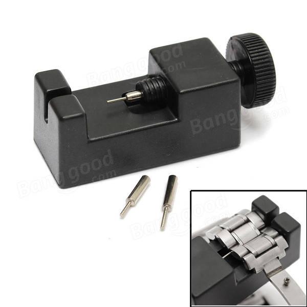 Horloge Reparatie Tool Link Pin Remover Band Adjuster Met 2Pcs Extra Pins