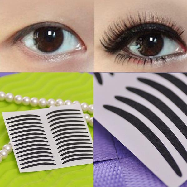 Temporary Black Stripe Makeup Eyeliner Tattoo Sticker At Banggood