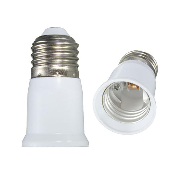 Screw E27 To E27 Light Bulb Extender Adaptor Lamp Converter Holder