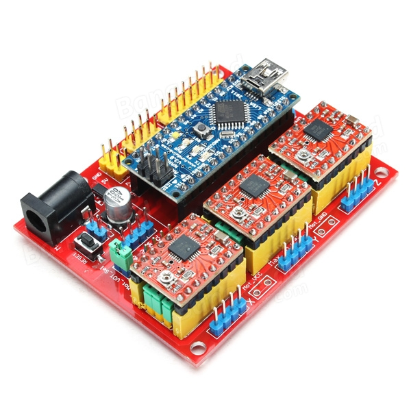 cnc shield v4 expansion board with nano a4988 for arduino 3d printer sale sold out. Black Bedroom Furniture Sets. Home Design Ideas