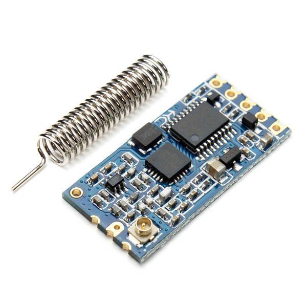 Geekcreit® HC-12 433 SI4463 Wireless Serial Module Remote 1000M With Antenna