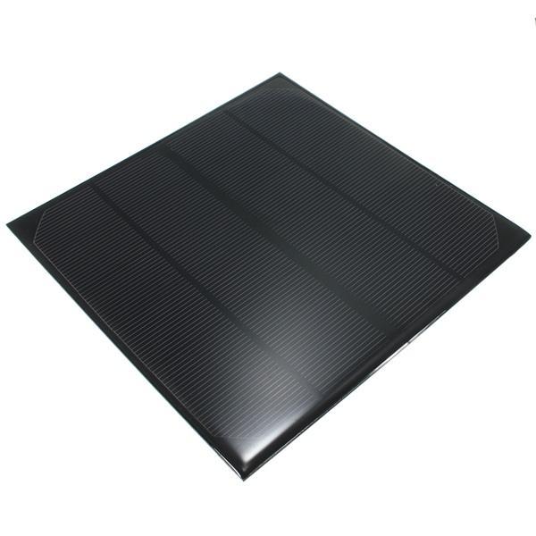 6V 4.5W 520mAh Panel Solar de Epoxi de Monocristalina Mini Panel Fotovoltaico