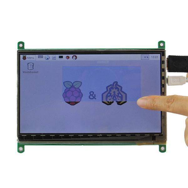 7 Inch HD Capacitive Touch Screen TFT Display LCD For Raspberry Pi B/B+/Pi2