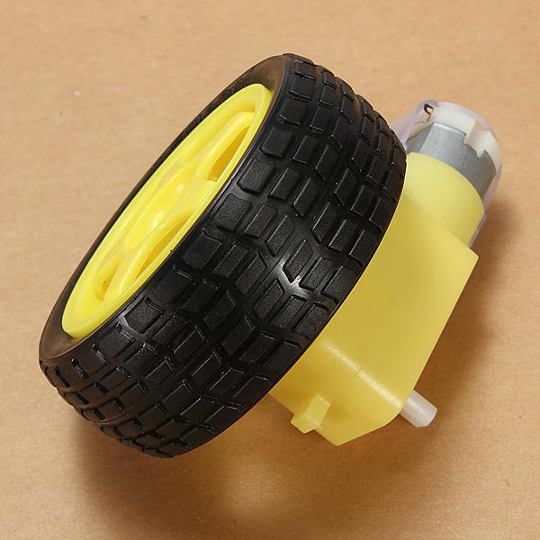 4Pcs Smart Car Wheel Deceleration DC Motor For Arduino Smart Car Robot