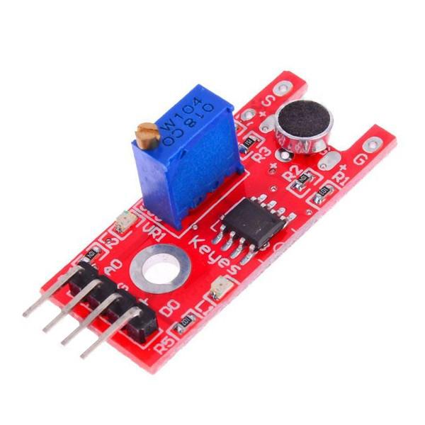 5pcs ky-038 modulo sensore audio del microfono per arduino