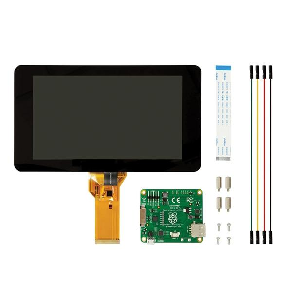 dc40440c84125 Official Raspberry Pi 7 Inch Touchscreen Display With Acrylic Base Holder For  Raspberry Pi 3B