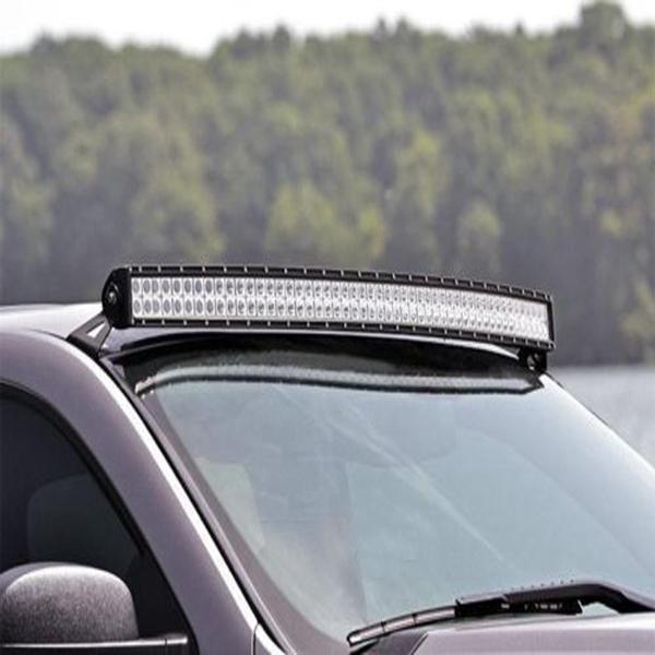 Led Shop Light Bar For Sale: Pair Wind Shield Curved Led Light Bar Mount Brackets For