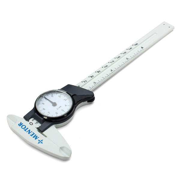 Tools 6 Inch Dial Panel Caliper Stainless Steel Gauge Body Full Standard Reading