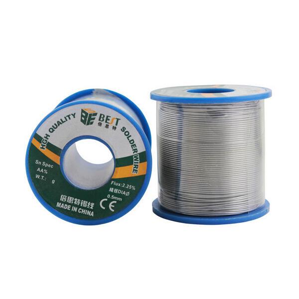 Migliore 500g 0.6 millimetri blu saldatura elettrica linea latta bobina di saldatura di stagno