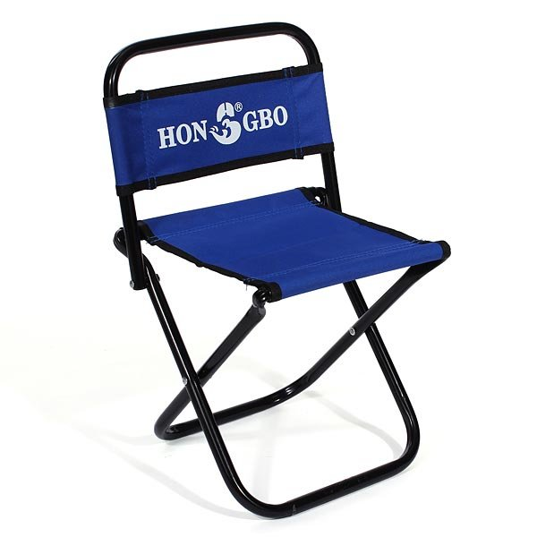 Portable Folding Chair Backrest Fishing Small Blue Stool Us 21 84 Sold Out