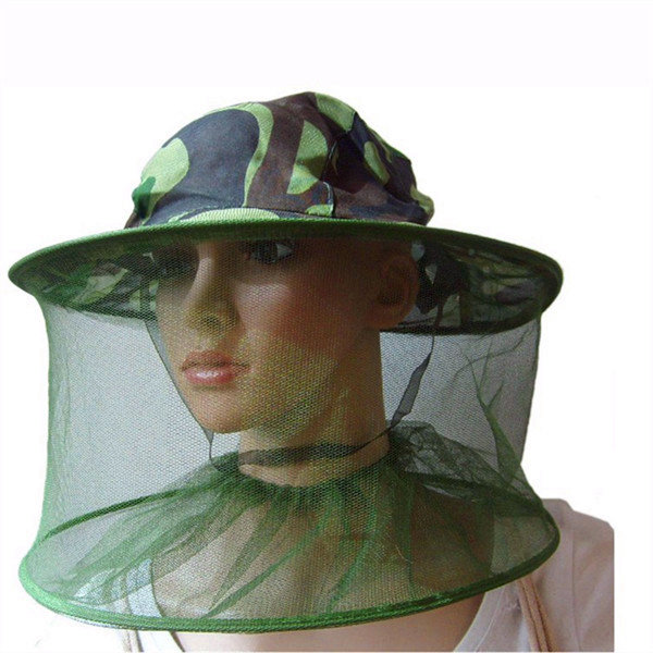 0966fb646d359 Mosquito Bug Insect Net Bee Mesh Head Face Fishing Hunting Hat Protector -  US 5.21 sold out