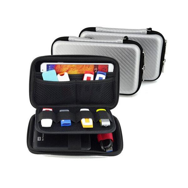 sac de rangement accessoire num rique polyvalent portable pour t l phone mobile vente banggood. Black Bedroom Furniture Sets. Home Design Ideas