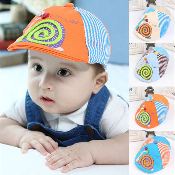 Baby Girl Boy Toddler Cute Beret Snail Soft Cotton Beanie Hat Cap 3-12  Months - US 7.59 sold out 62666dcdf50