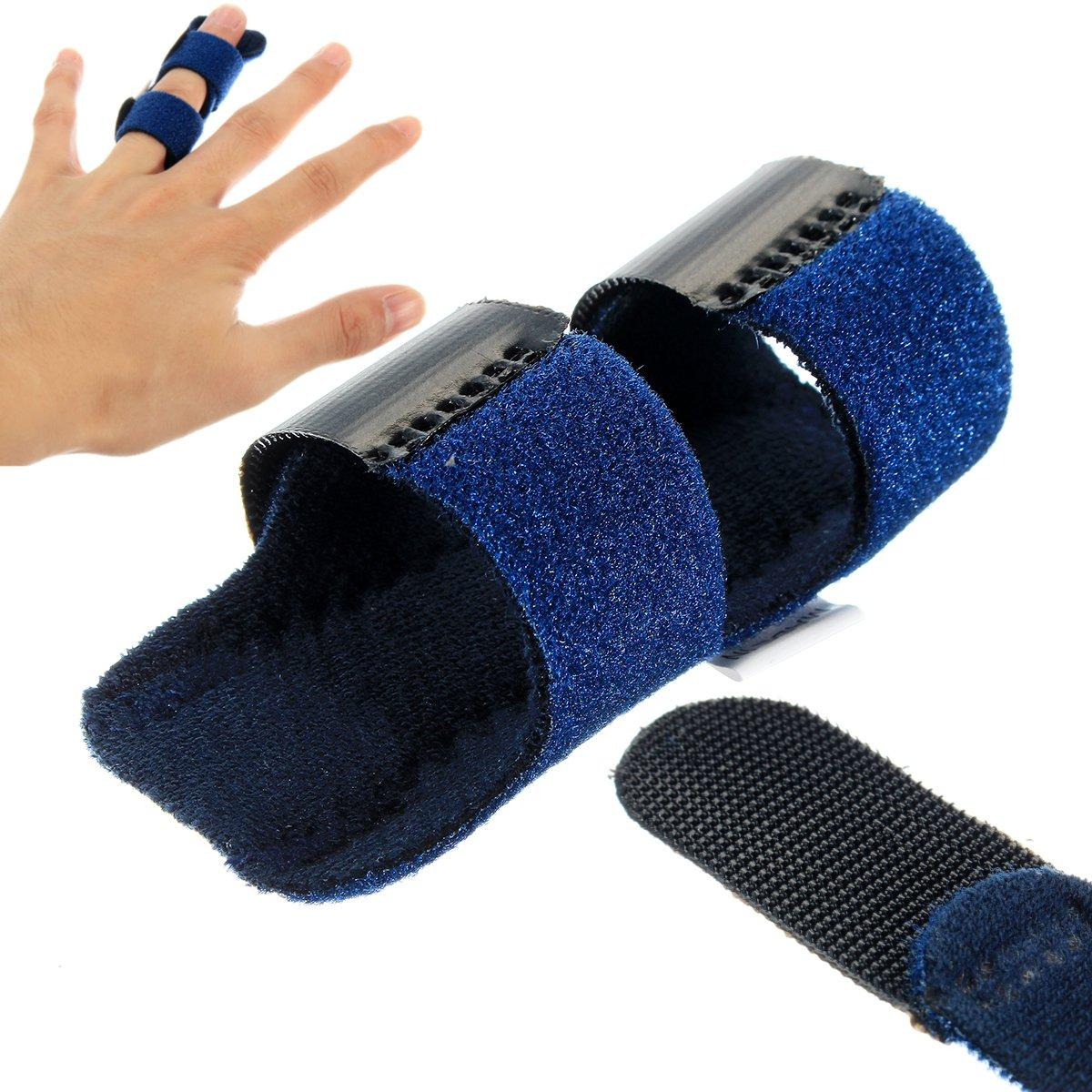 VERDOLCE Trigger Finger Splint Brace with Aluminium Bar Support for Finger Straight and Pain Relief