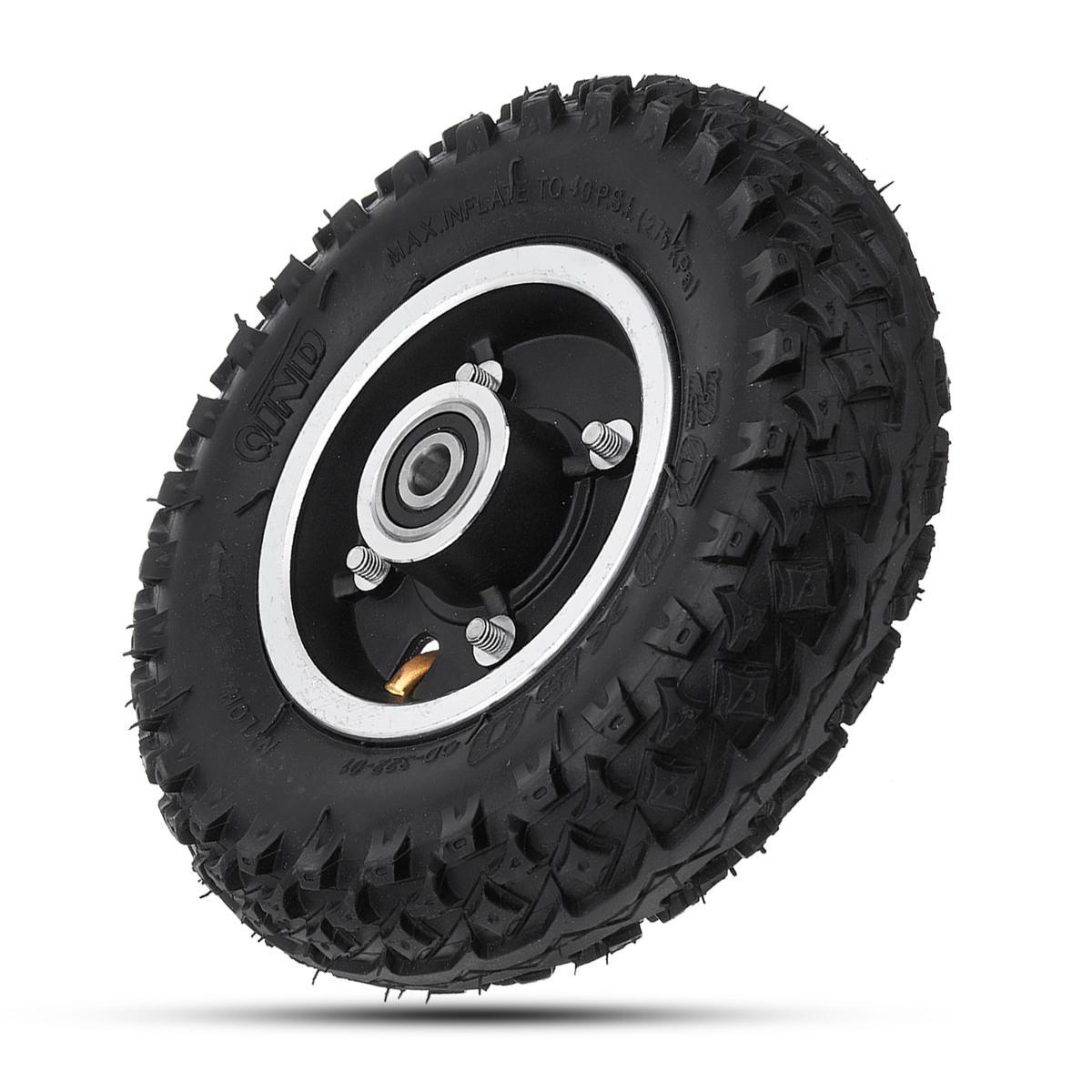 Caoutchouc gonflable de Longboard de 200 * 50mm outre de la roue de route pour la planche à roulettes électrique