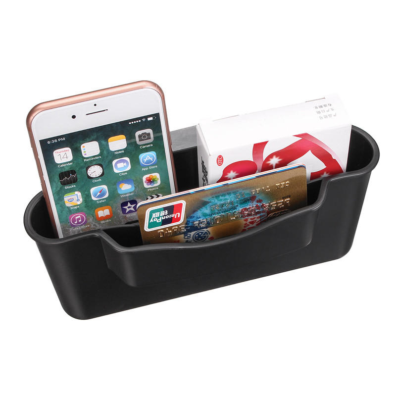 Universal Strong Sticky Large Capacity Car Storage Box Phone Holder for iPhone Xiaomi Mobile Phone