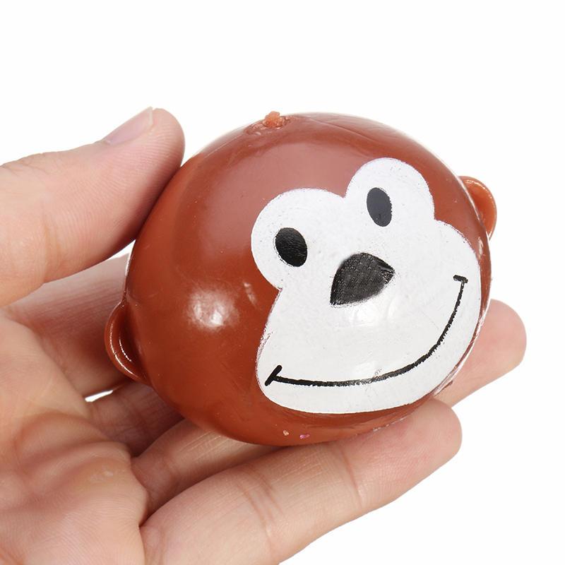 Smash-it Simulation Tricky Finger Vent Monkey Réduire les jouets de stress pour les enfants Children Gift