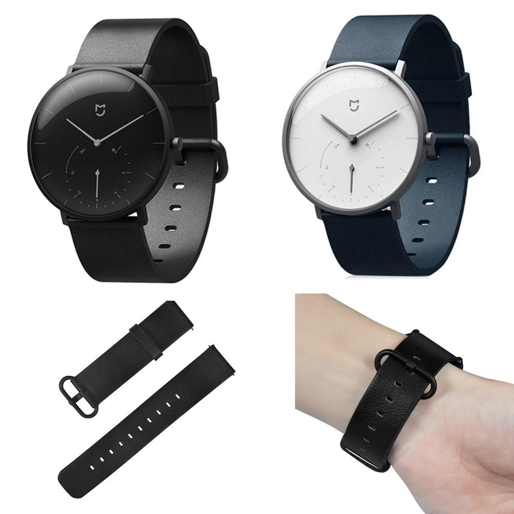 Bakeey Reloj de pulsera de repuesto Piel Genuina Banda para reloj inteligente Xiaomi Mijia
