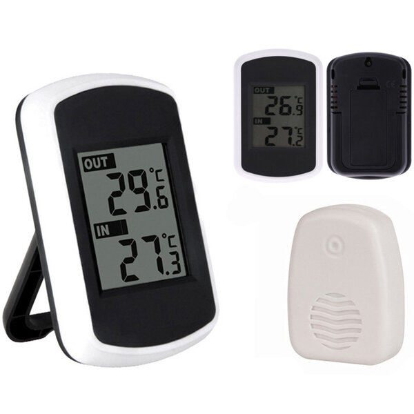 Ts Ft004 B Digtal Ambient Weather Wireless Thermometer Indoor Outdoor Temperature Tester Cod