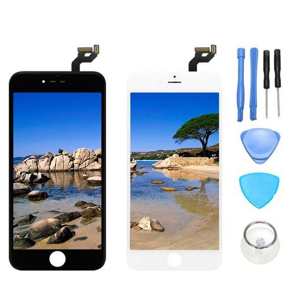 Assemblaggio completo No Pixel Dead LCD Sostituzione + Ripristino + Riparazione Digitizer Schermo + Touch Strumenti Per iPhone 6s Plus