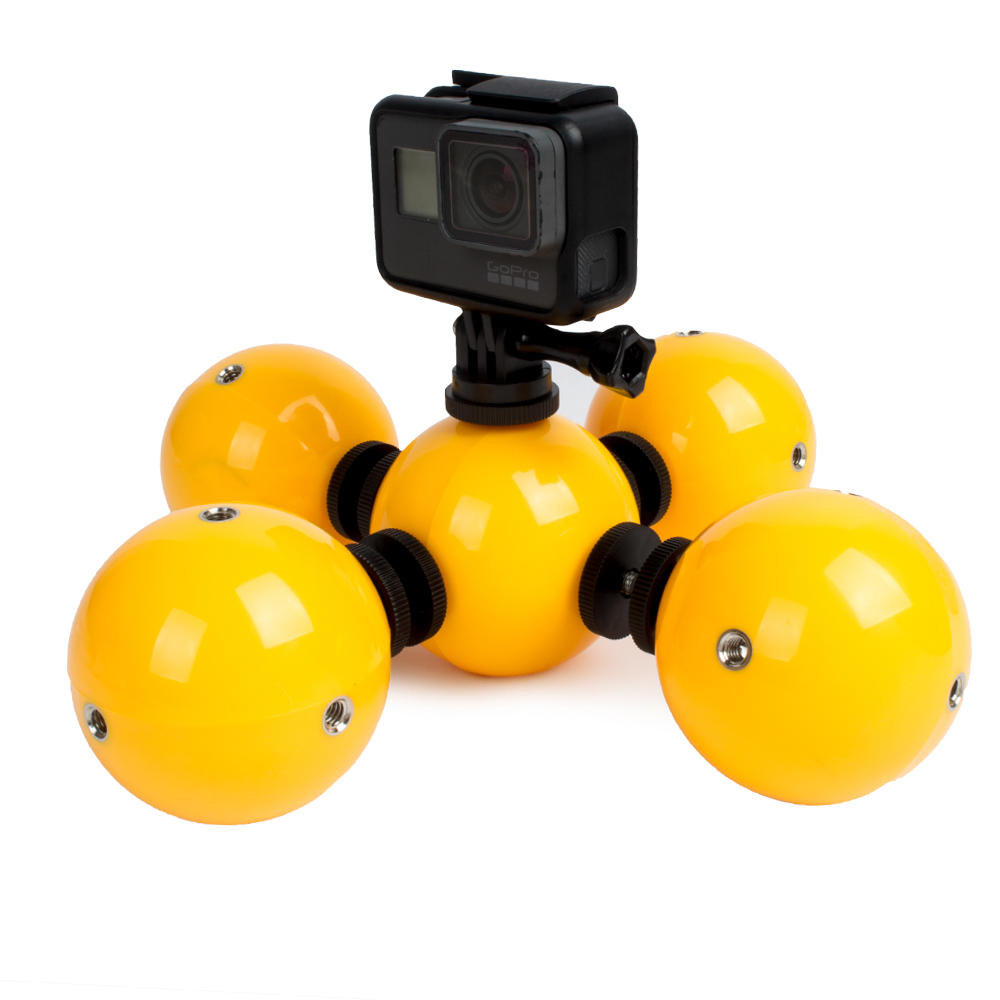 Floating Ball Bobber Float With Safety Lanyard Strap For Gopro Sjcam Hand Grip Xiaomi Yi And Hero 2 3 Action Camera