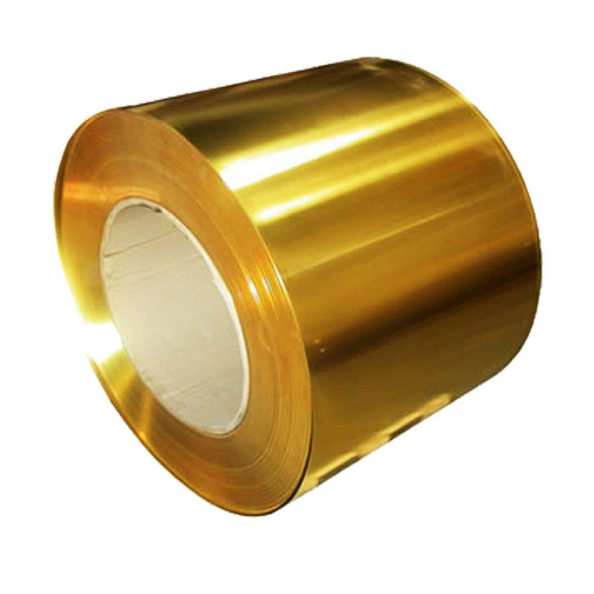 Brass Metal Thin Sheet Foil Plate 0.02 x 100 x 1000 mm