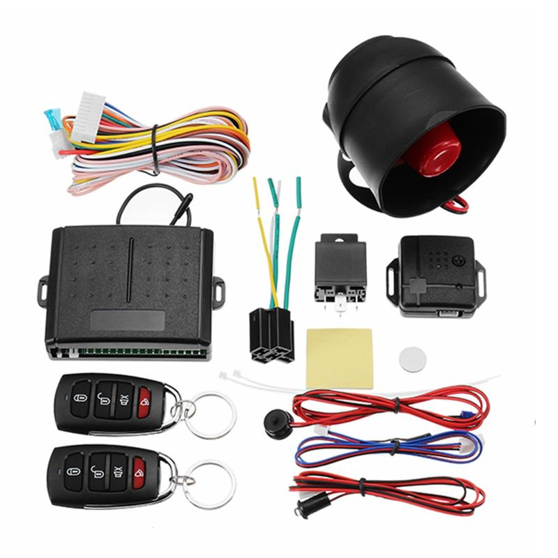Atv,rv,boat & Other Vehicle Controllers Professional Sale Central Keyless Door Lock Central Locking System With Car Remote Control Alarm Systems Remote Control Central Kit Locking Switch
