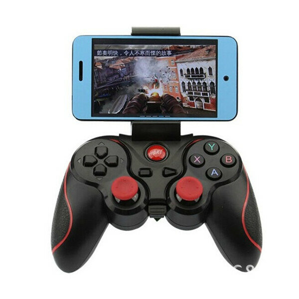 F300 Smartphone Game Controller Wireless Bluetooth Gamepad Joystick pour Android Tablet PC TV BOX