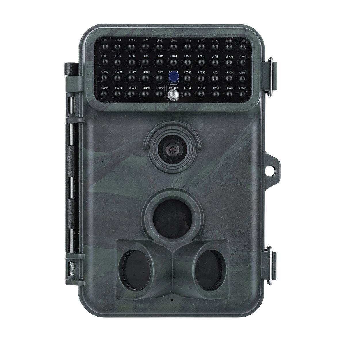 2.4 Inch 16MP 1080P PIR Sensor Impermeable Trail Cámara No Flash Visión nocturna Wildlife Hunting Cámara