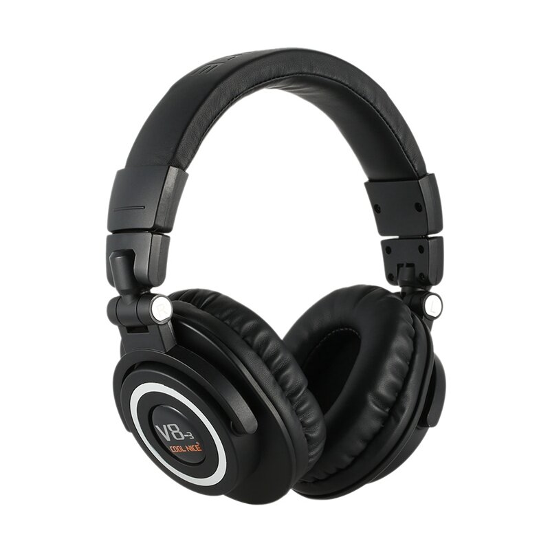 Cool Nice V8-3 Over Ear Foldable Noise Cancelling Heavy Bass Microphone bluetooth Headphone