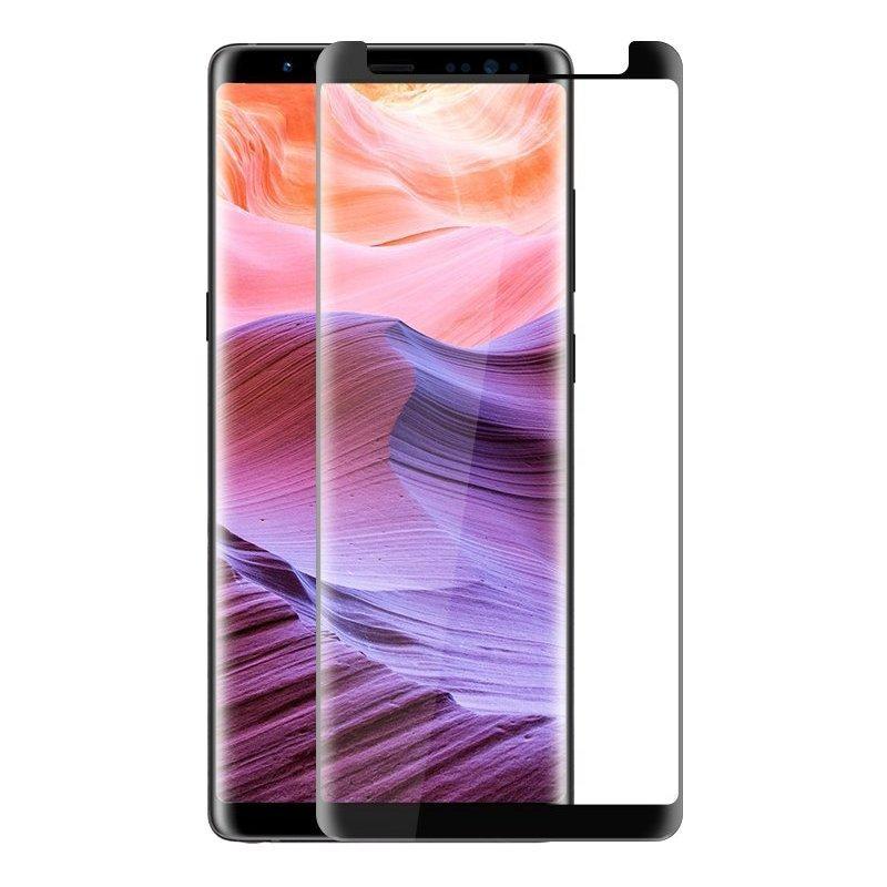 Bakeey Полный клей 3D Curved Edge Чехол Дружественный закаленный стеклянный протектор экрана для Samsung Galaxy Note 8