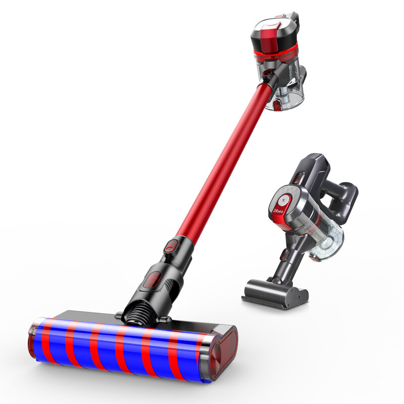 Dibea D008Pro Cordless Vacuum Cleaner 17000Pa Powerful Suction 250W Brushless Motor