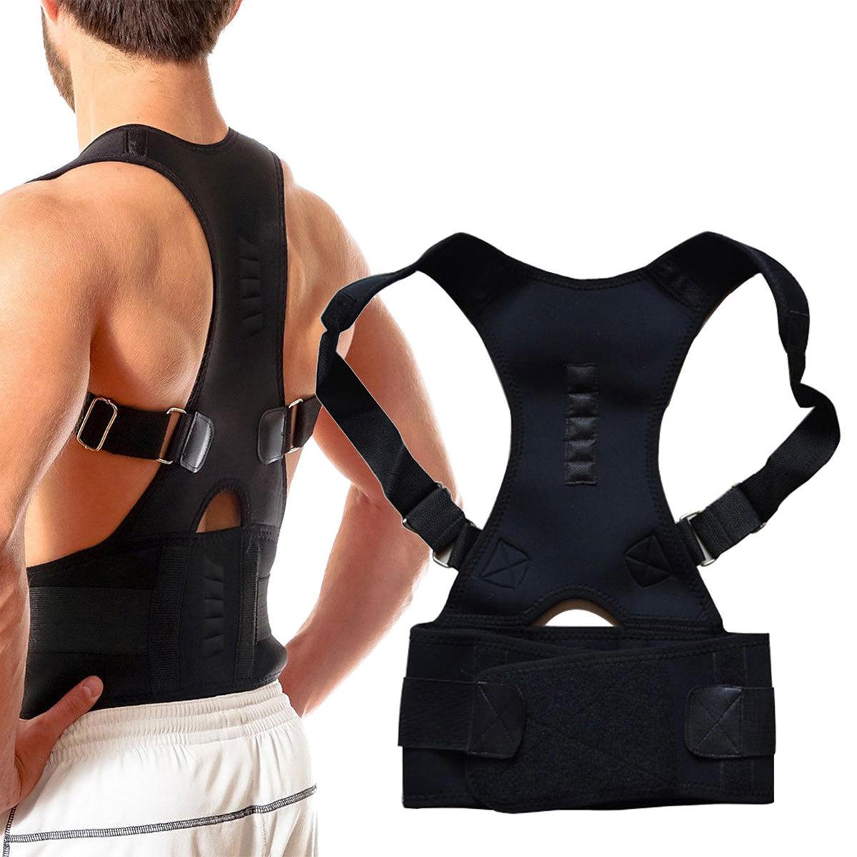Adjustable Back Support Protection Back Shoulder Posture Pain Relief Back Posture Corrector
