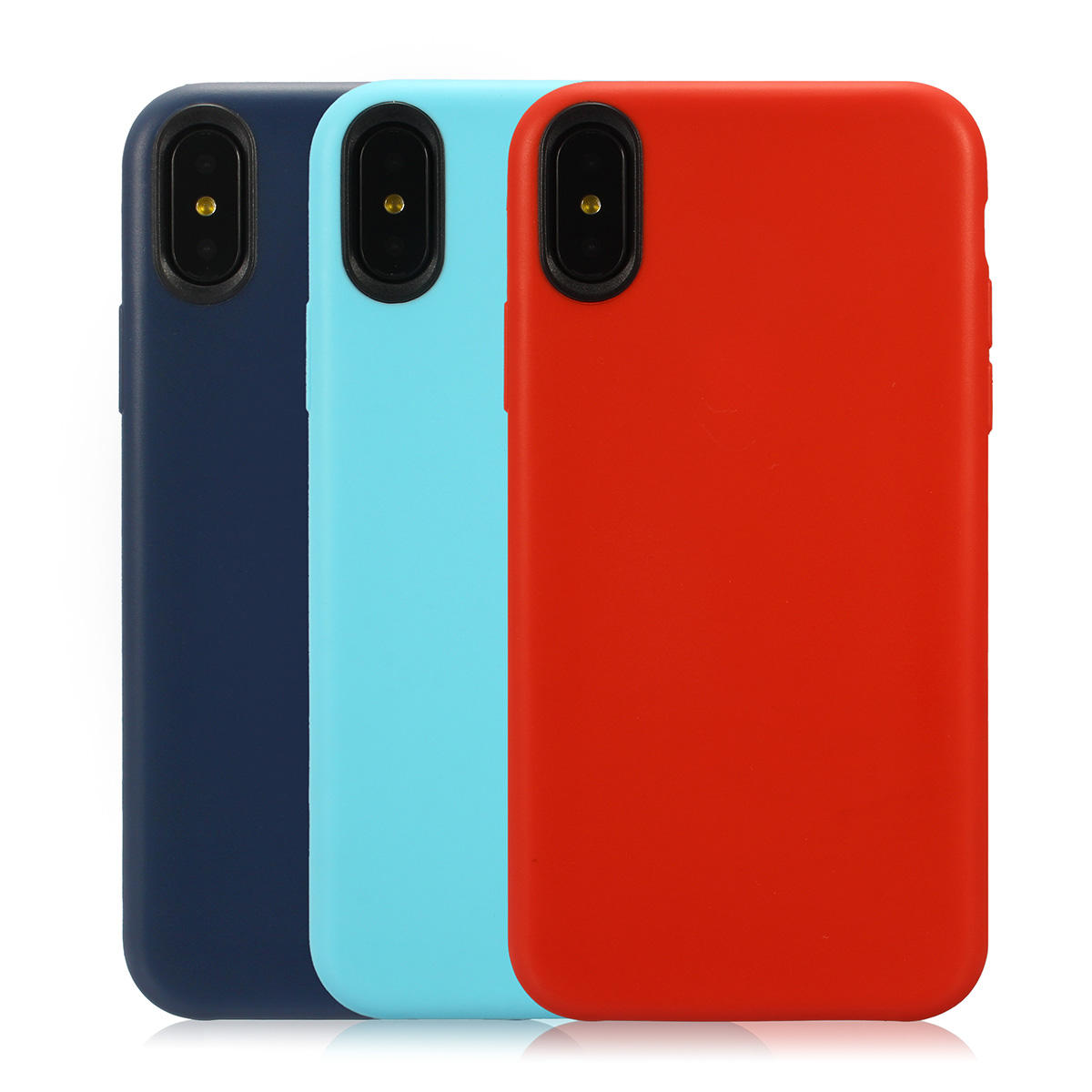 Ultra sottile Anti Impronta digitale shockproof Soft Silicone Custodia per iPhone X