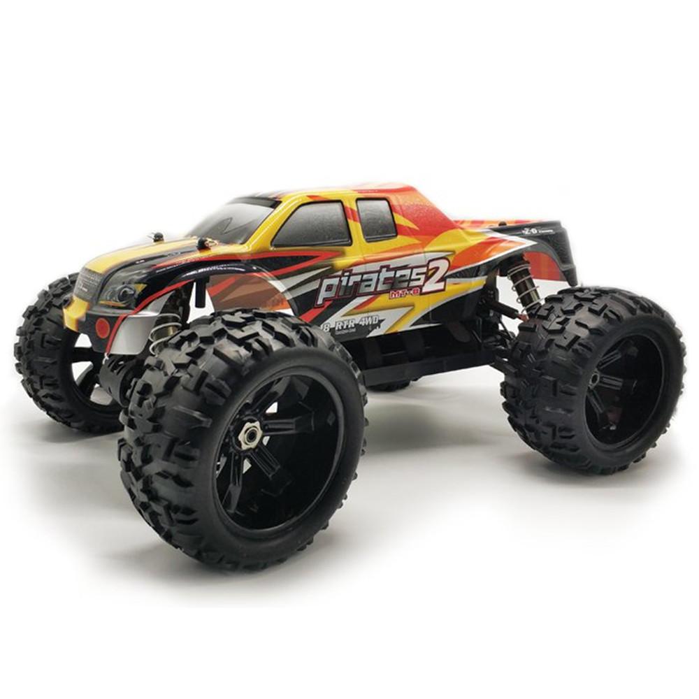 Zd سباق 9116 1/8 2.4 جرام 4WD 80a 3670 فرش rc سيارة الوحش الطرق الوعرة شاحنة rtr لعبة