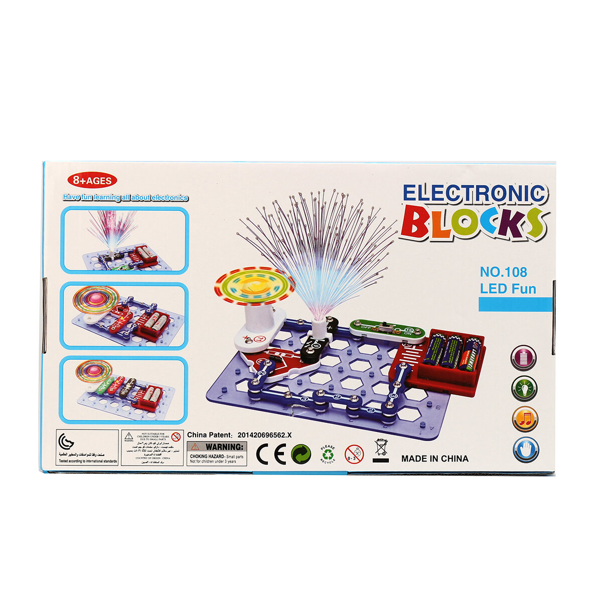 Educational Snap Circuits Electronics Discovery Blocks Kit Science Introduction To The Electronic Relay Using