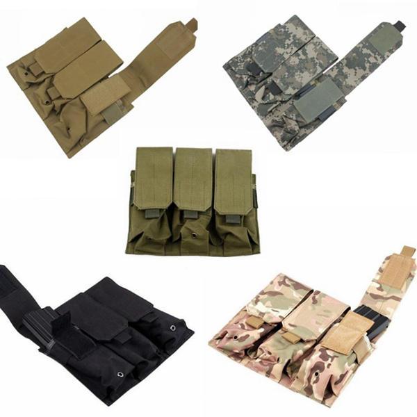 Molle Nylon Multi-Use Pakket Triple Paquete Accesorios Bags