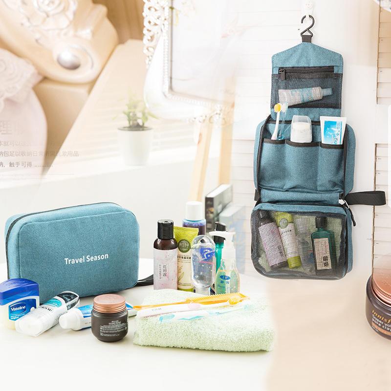 Honana HN-CB07 Travel Cosmetic Bag Waterproof Hanging Toiletry Bags  Makeup  Organizer Case
