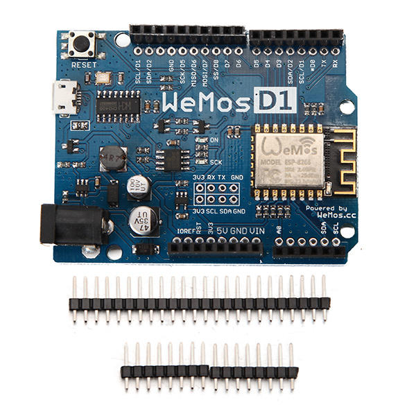 WeMos® D1 R2 WiFi ESP8266 Development Board Compatible Arduino UNO Program By Arduino IDE