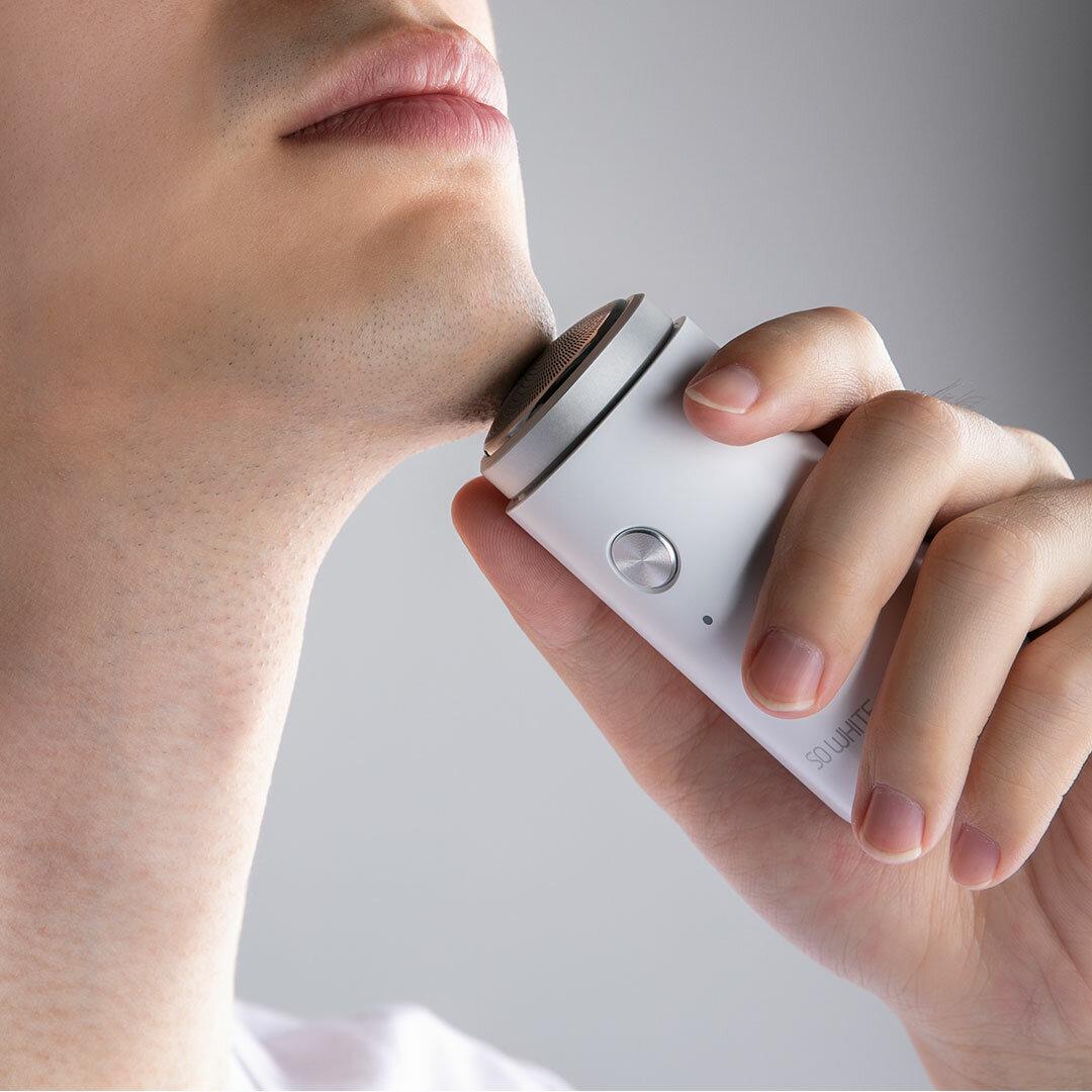 Maszynka do golenia Golarka XIAOMI SO WHITE ED1 za $10.99 / ~42zł