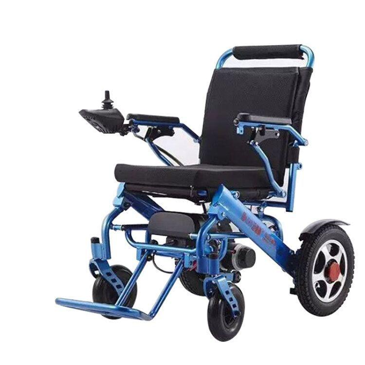 56f1a8ab1d1 110V 220V Folding Electric Wheelchair Mobility Old Elderly Disabled Portable  Rollstuhl Scooter COD