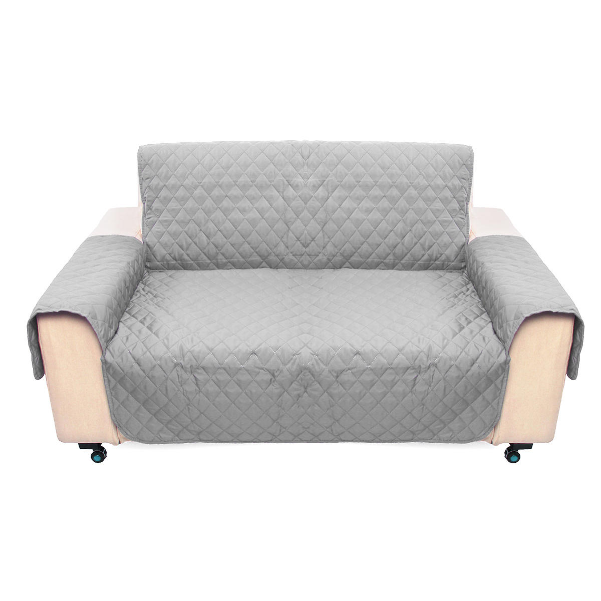 light gray 2 seater pet sofa couch protector cover removable w strap rh banggood com