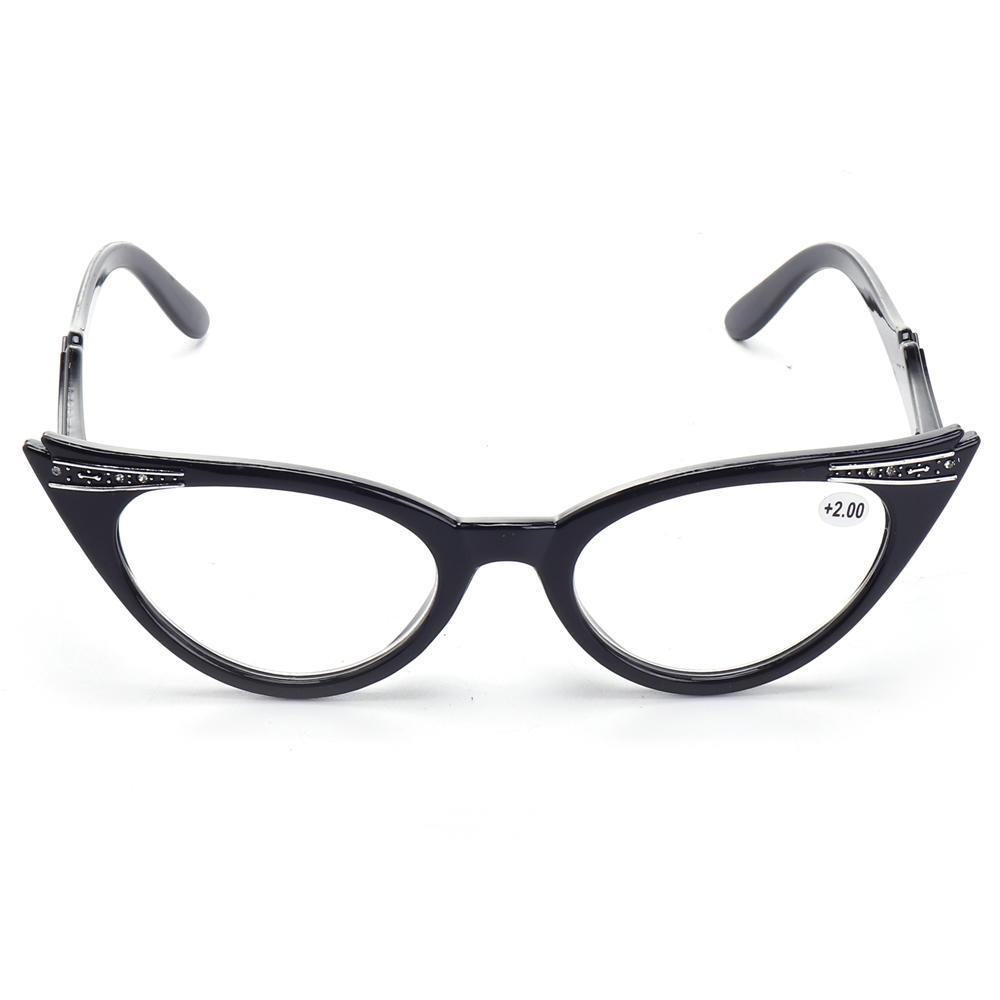 Damen Fashion Resin Leopard Katze Auge Presbyopie Brille - Banggood ...
