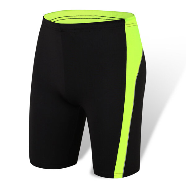 b2414e079a Running Fitness Quick Drying Breathable Professional Sports Tight Shorts  Fifth Pants - Green XL COD