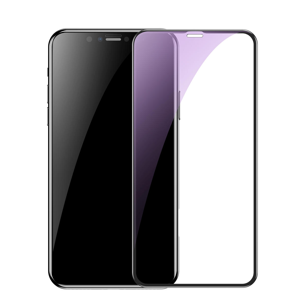 Baseus 0.3mm Full Glass Clear/Anti Blue Ray Light Scratch Resistant Tempered Glass Screen Protector For iPhone XR