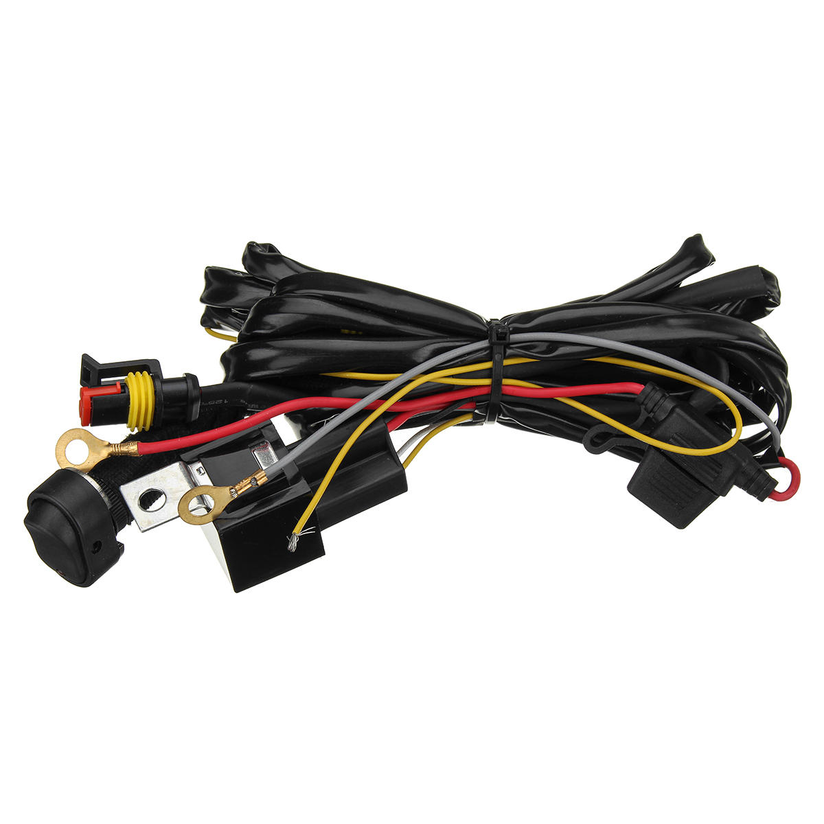 Wondrous 12V 40A Led Fog Lights Wiring Harness Switch On Off For Bmw R1200Gs Wiring Cloud Hisonuggs Outletorg