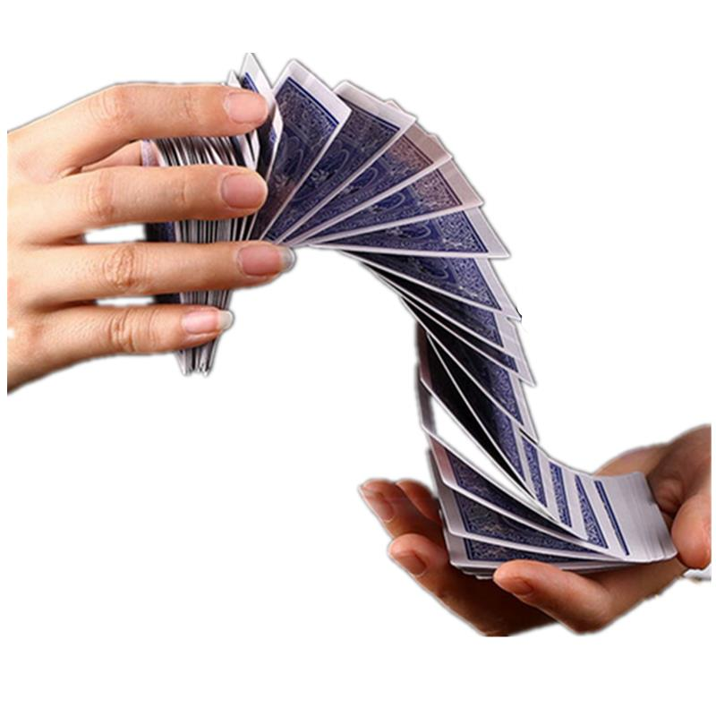 Magic Electric Deck van Kaarten Prank Trick Prop Poker Acrobatiek Waterval Card Props