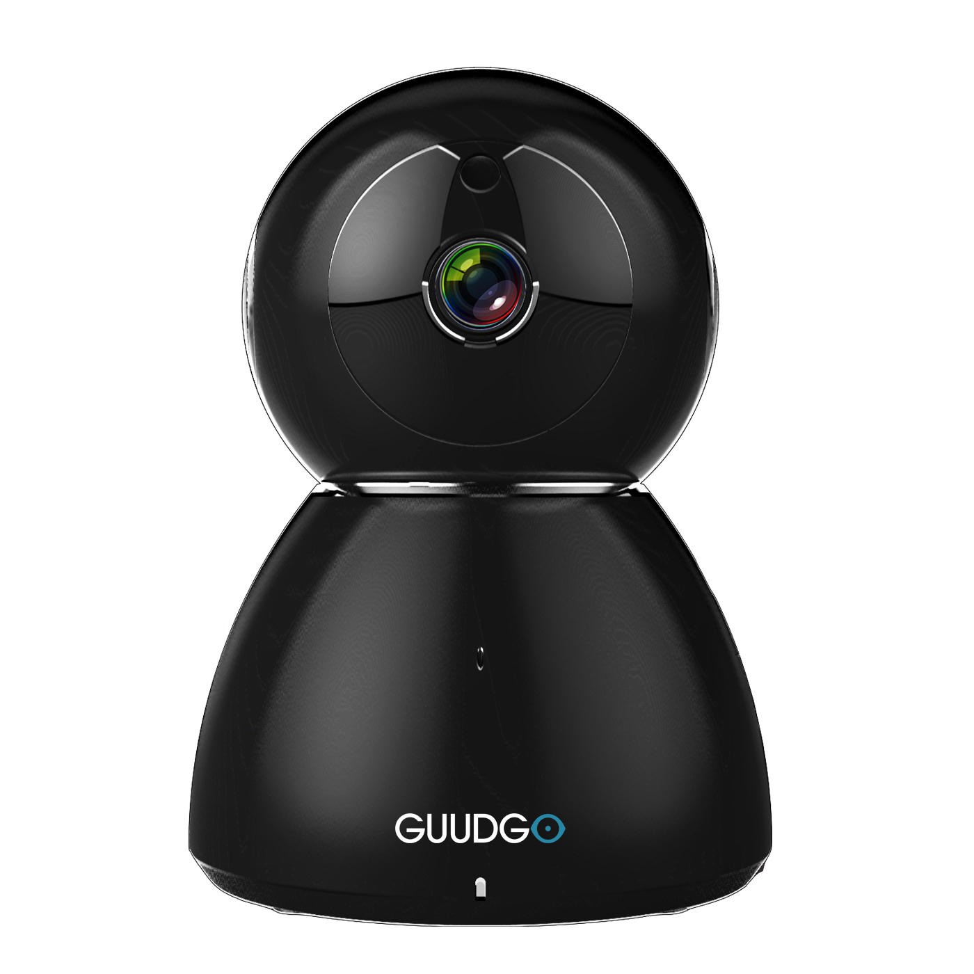 GUUDGO GD-SC03 Snowman 1080P Cloud WIFI IP Camera Black Pan&Tilt IR-Cut Night Vision Two-way Audio Motion Detection Alarm Camera Monitor Support Amazon-AWS[Amazon Web Services] Cloud Storage Service