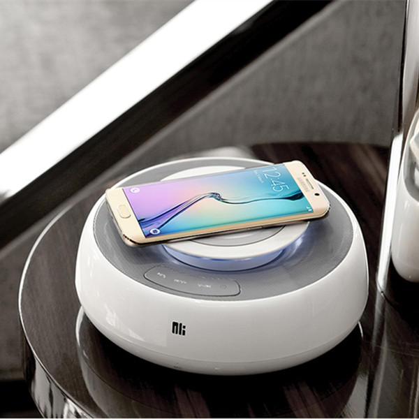 NILLKIN MC2 20W NFC 무선 충전기 Qi 충전 블루투스 스피커 아이폰 X 8 삼성 S8 S7