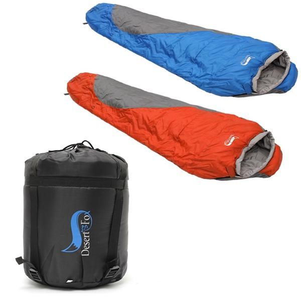 Single Person Sleeping Bag Outdoor Camping Hiking Travel With Carrying Case Waterproof